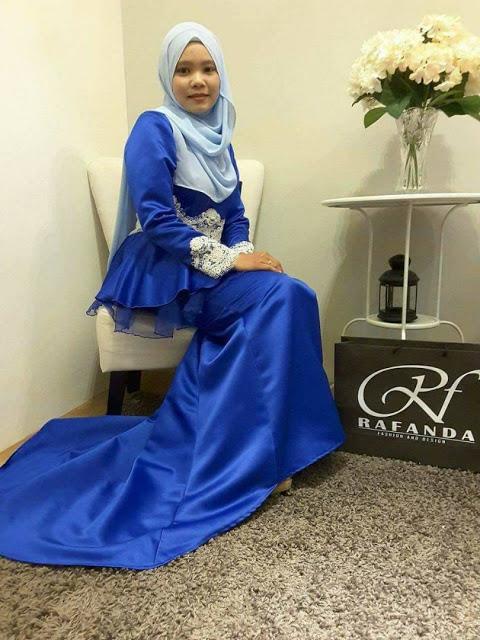 tempahan baju eksklusif untuk majlis rasmi elegant