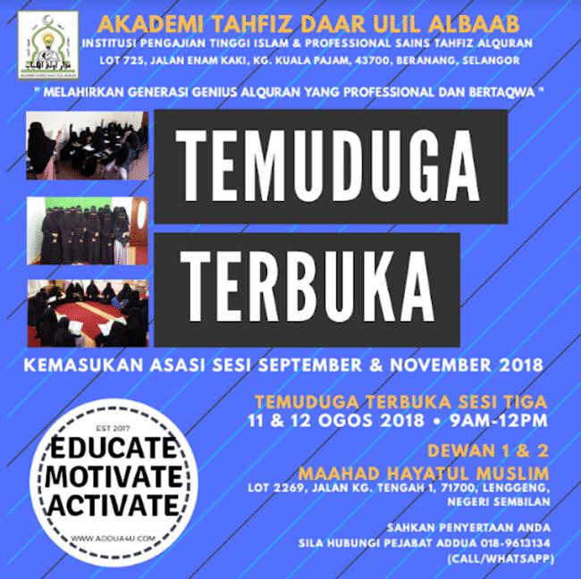 Akademi Tahfiz Al Quran Terbaik Di Selangor Yang Anda Perlu Tahu