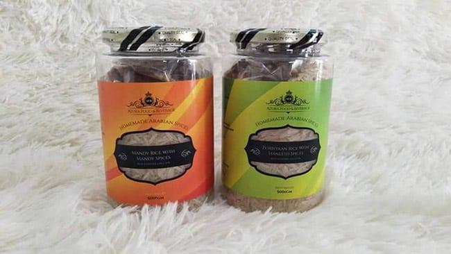 Homemade Arabian Spices Botol