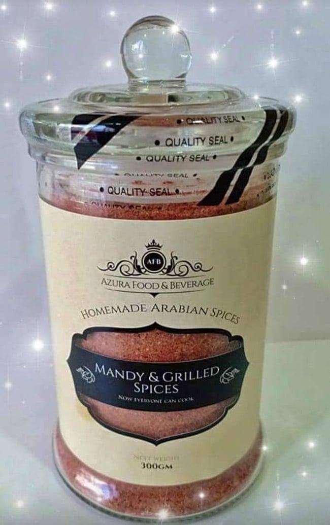 Homemade Arabian Spices Mandy