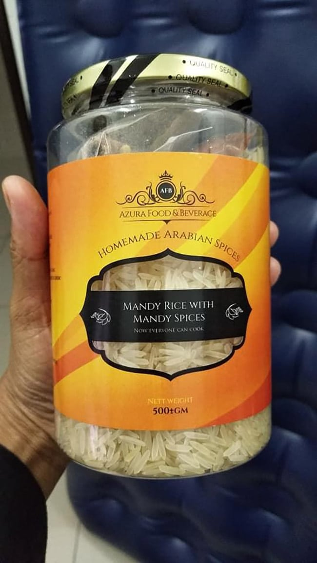 Homemade Arabian Spices Orange