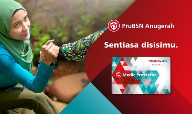Ada Medical Card Prudential BSN Takaful Murah 2018