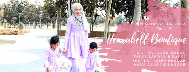 Pakaian Muslimah Heaxabell Butik