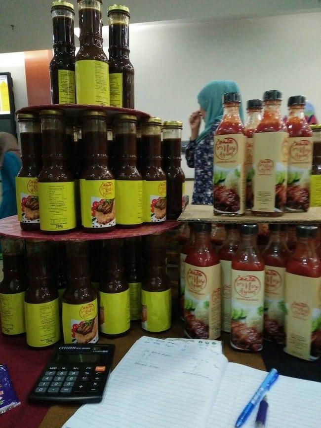rahsia bisnes produk sos cili sendiri