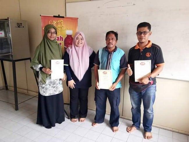 testimoni peserta kursus usahawan sos cili