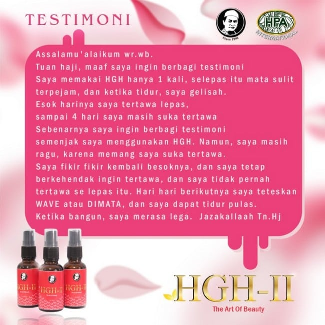 testimoni pengguna hgh-2