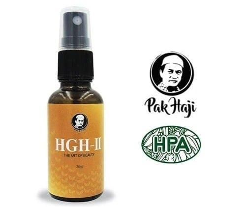 hgh-ii serum rawat masalah kulit kusam