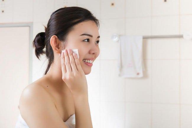 cuci muka sentiasa untuk elak kulit jadi kusam