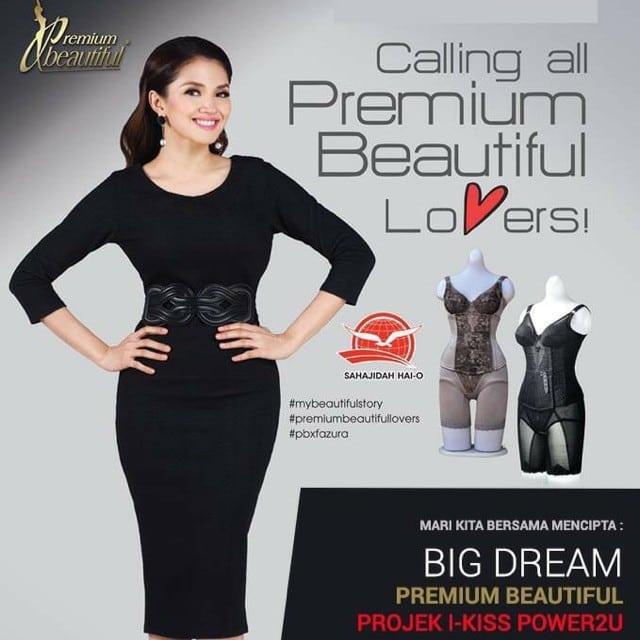 premium beautiful corset mencantikkan badan dengan pantas
