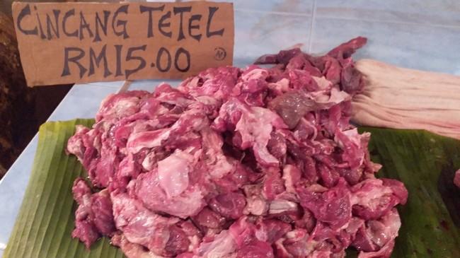 daging tetel murah di KL