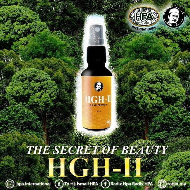 hgh-2 untuk kecantikan kulit semulajadi