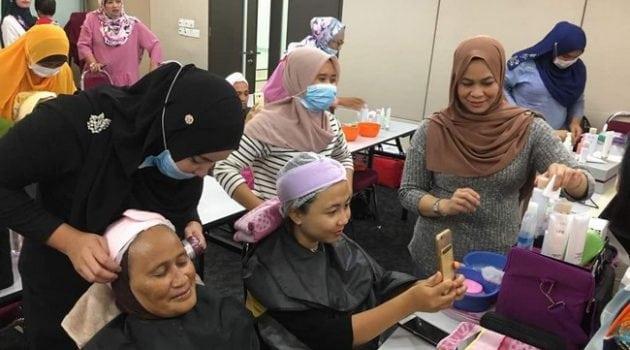 kelas perniagaan mobile facial spa 5