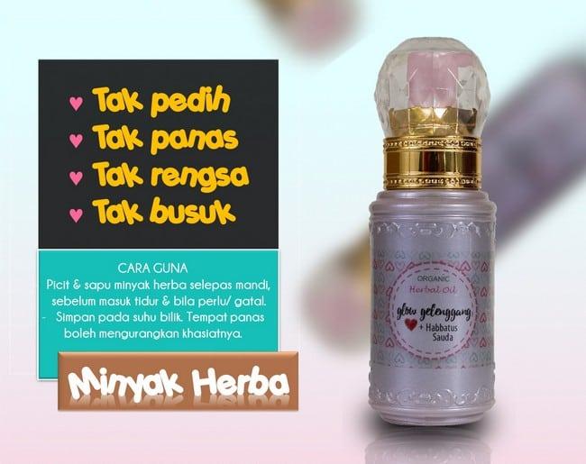 minyak herba glow gelenggang