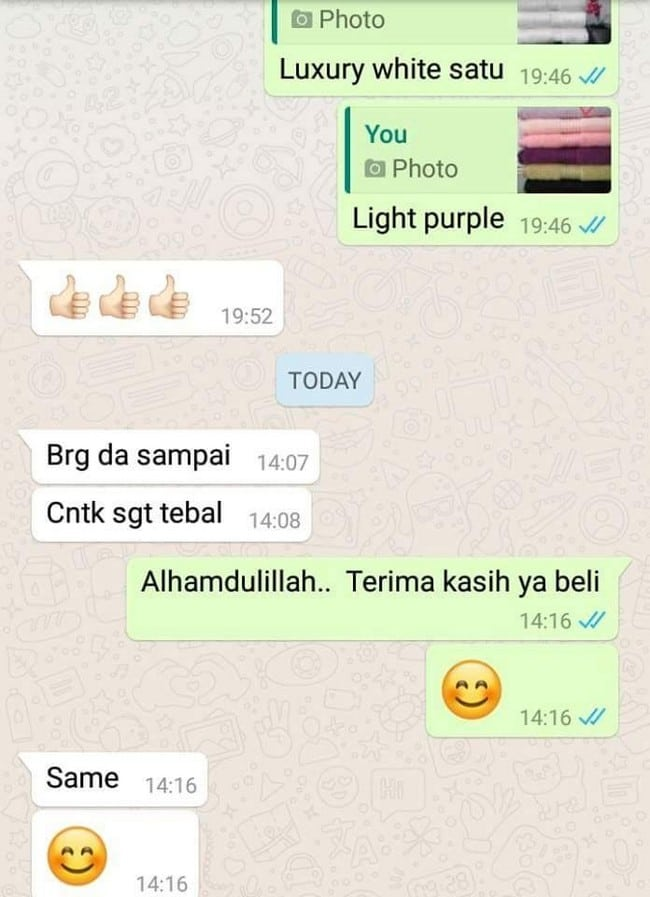 testimoni tuala mandi ifira collection