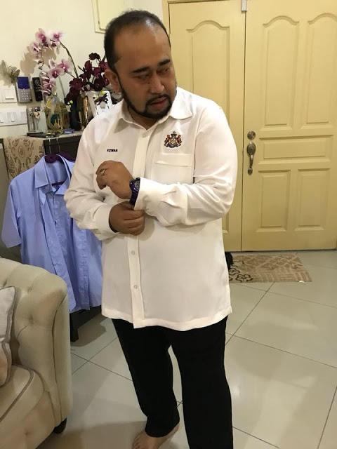 hasil baju korporat di aisha exclusive tailor