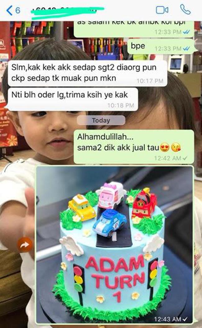 Adanya Kek Premium Sedap Di Melaka