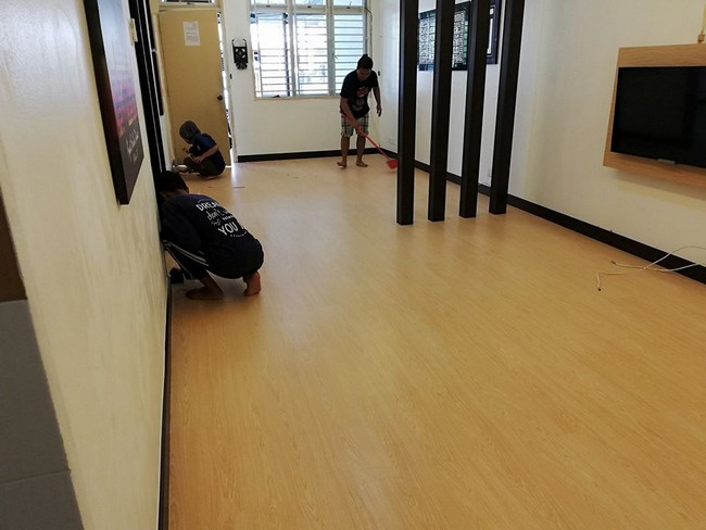 Servis Pemasangan Vinyl Flooring