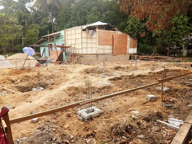tapak asas pembinaan rumah