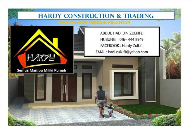 hardy construction kontraktor rumah berdaftar CIDB