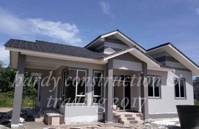 rumah yang dibina oleh hardy construction