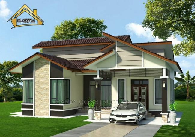 kos dalam pembinaan rumah sendiri