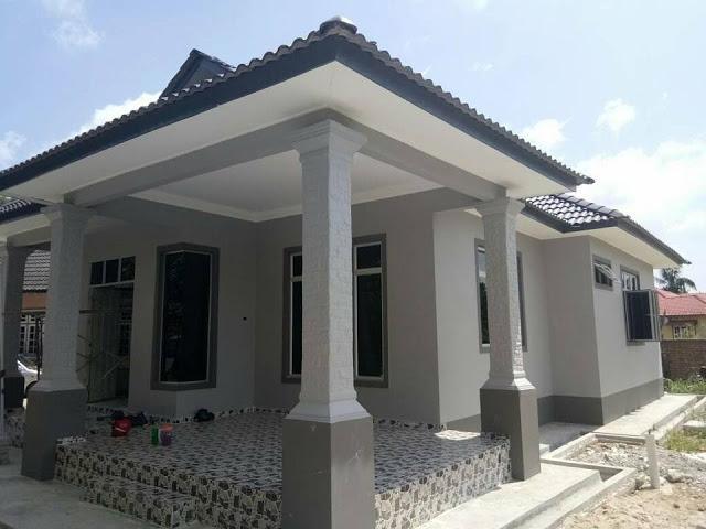 contoh rumah bina sendiri