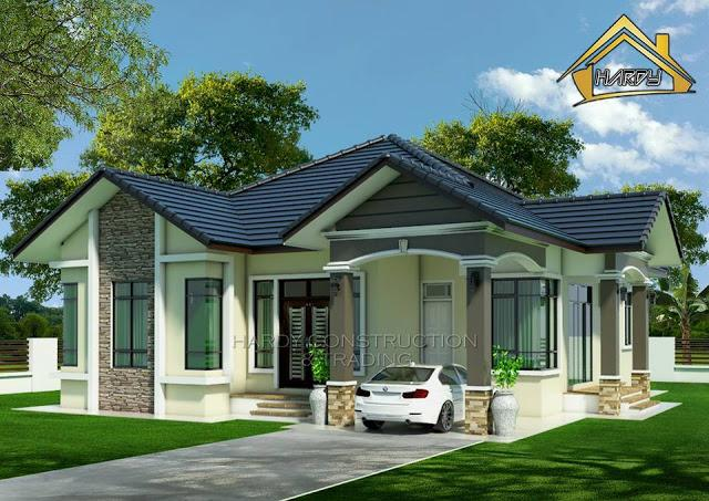 gambar 3D rekaan rumah