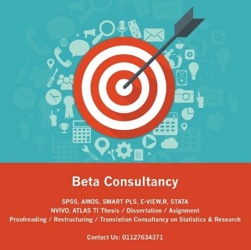 consultancy data analysis dan research