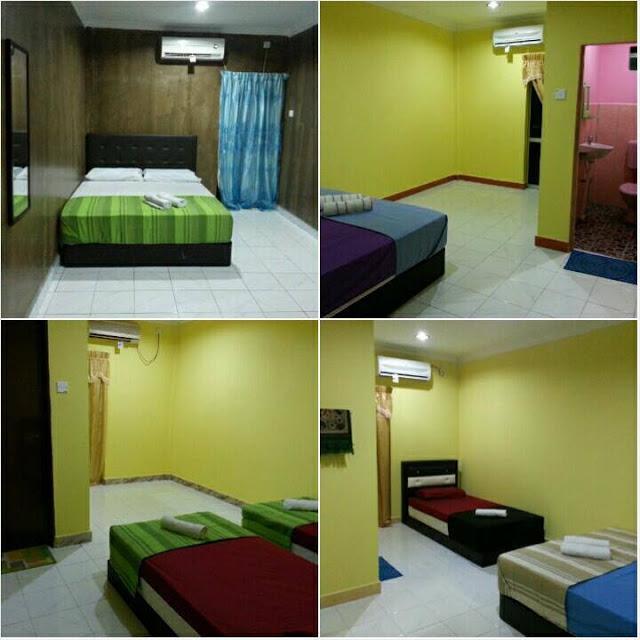 bilik tidur di pulau redang arikiya village