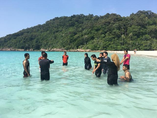 aktiviti air di pulau redang