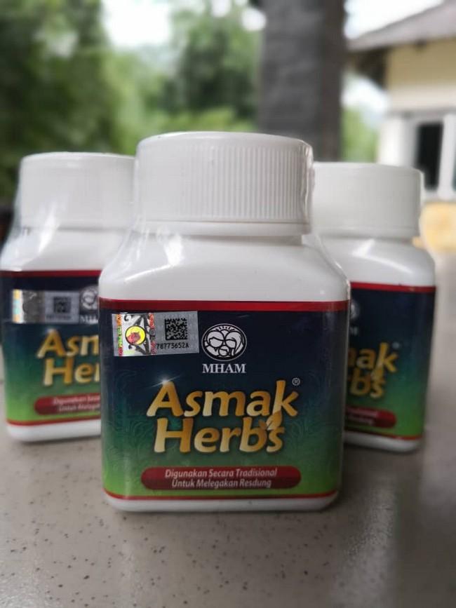 asmak herbs rawatan alahan resdung