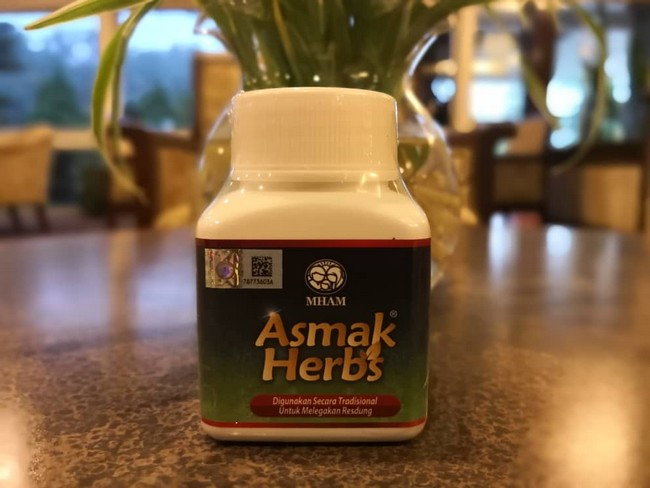 asmak herbs herba atasi resdung