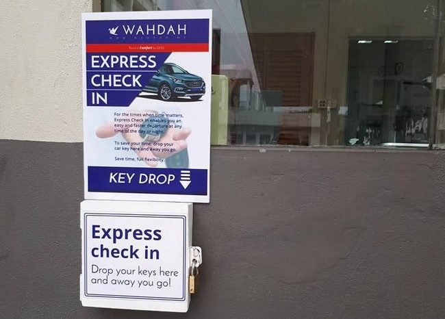 wahdah afforadable car rental service