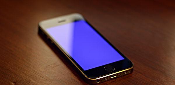 skrin tiada display iphone