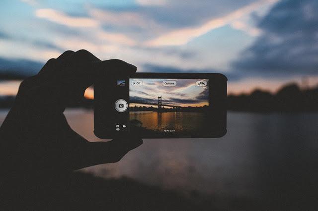 kualiti gambar dari iphone yang cantik