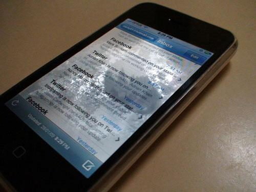 masalah water damage iphone