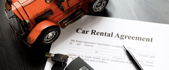 car rental agreeement setiap sewaan