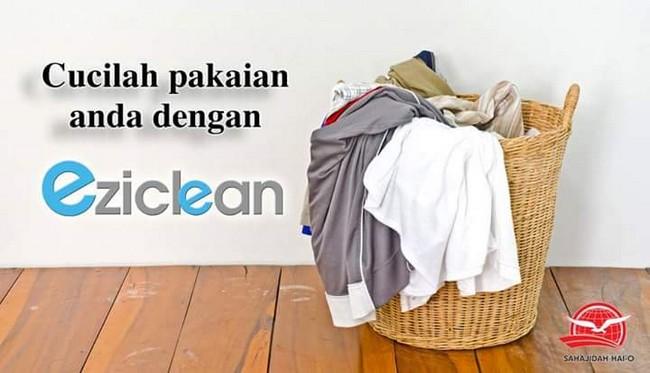 pencuci pakaian terjamin bersih