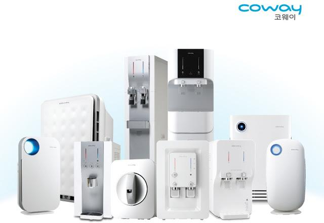 promosi water purifier & air purifier coway