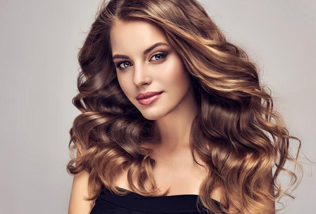 cantikkan rambut dengan bahan semulajadi
