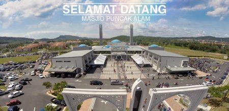 masjid puncak alam bangunan ikonik