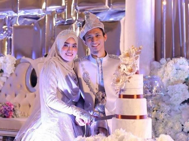 sampin perkahwinan cantik