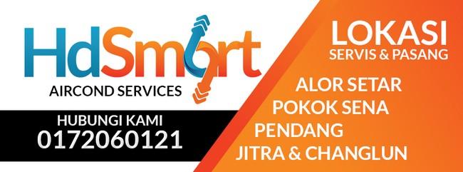 perkhidmatan terbaik aircond hdsmart