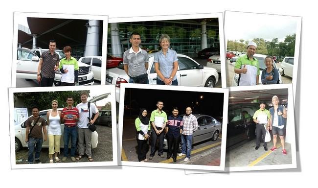 ribuan pelanggan yang telah menyewa kereta green matrix