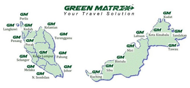 rangkaian kereta sewa mewah green matrix semenanjung
