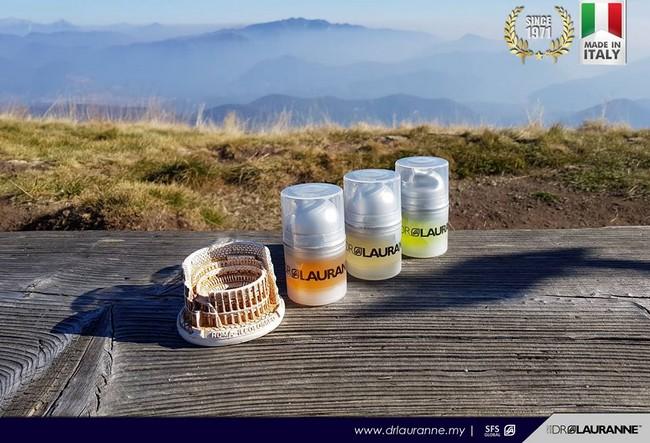 dr lauranne skincare berasaskan bahan semulajadi