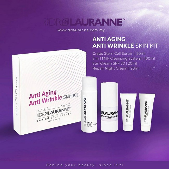 anti aging kit by dr lauranne