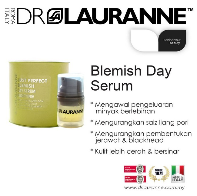 dr lauranne blemish day serum