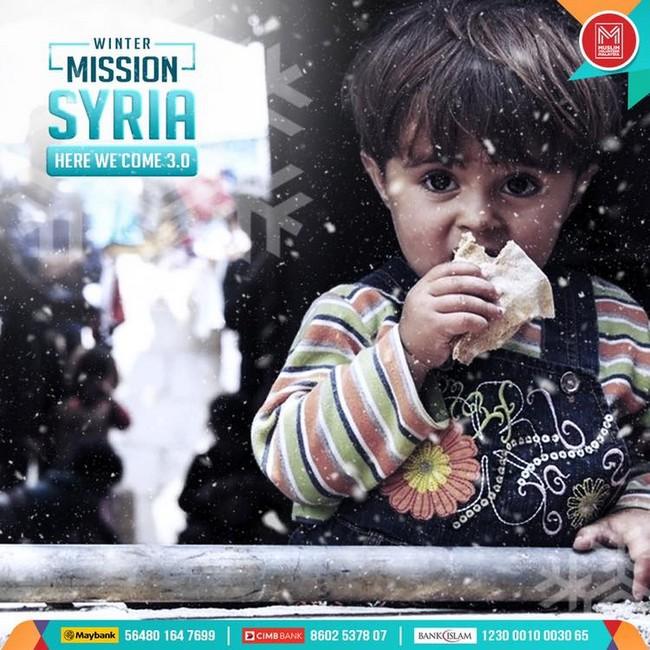 antara misi terbaru bantuan ke syria