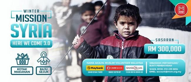 misi bantuan misi sejuk ke syria